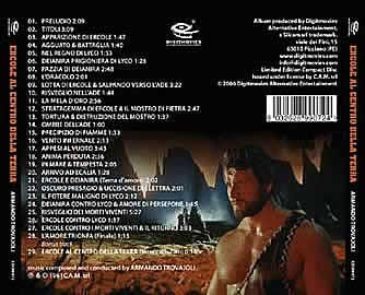 hercule contre vampires - CD
