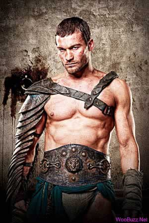 spartacus - andy whitfield
